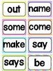 SIPPS Sight Words Flash Cards (Beginning Lessons 1-55)