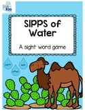 SIPPS of Water: a sight word game
