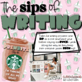 SIPS of Writing!! {EDITABLE Writing Process}