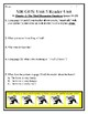 SIR GUS Skills Strand Unit 5 Reader Activity/Assessment 85 PG CCSS Reading Unit
