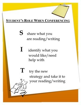 S.I.T Reading and Writing Conferencing for Students