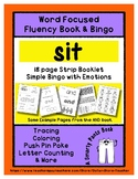 SIT - Word Fluency Book & Emotion Bingo - Sight Word Focus