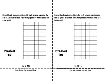 SIXES Multiplication Fact Fluency Flip Book: Grades 3-5