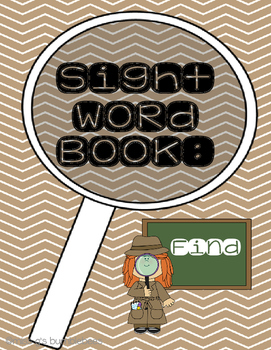 Sight Word Book: Find