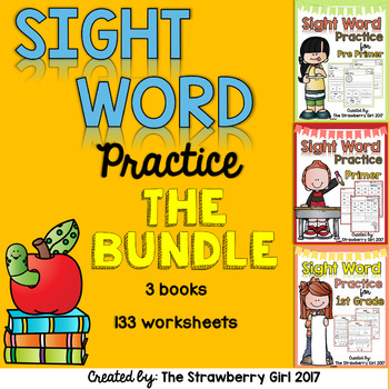 SIght Word Practice - The Bundle