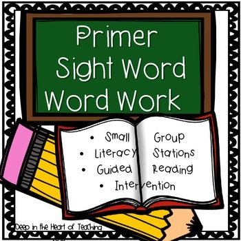 Primer Sight Word Practice