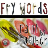 Fry Words Word Work Activities