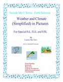 Weather and Climate (Simplified)  in Pictures for Special