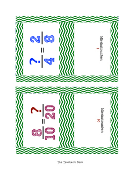 Simplify Fractions & Vocab Interactions Flashcards