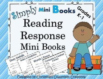 Reading Response to Literature Activities (K-1): Simply Mi