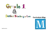 SK (FDK) and Grade One Curriculum Map for the Ontario Math