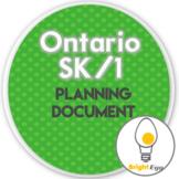 SK/1 Curriculum Planning Document