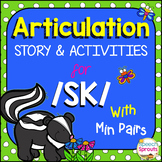 Articulation and Language Activities for SK: with Minimal Pairs & Reader