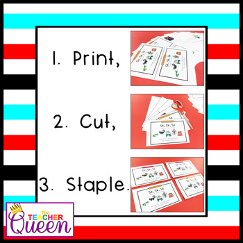 SK- Blend Readers Levels A and D (Printable and Projectable Books)