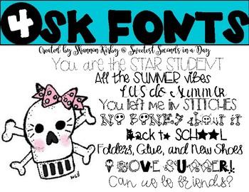 SK Fonts 4