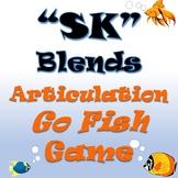 SK GO FISH Articulation Cards