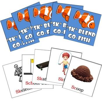 SK Blends Articulation Go Fish Cards