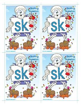 SK (Skating Skeleton) Blend Buddy Card