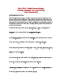 SKILLS for College Entrance Exams Reading, Language, Essay Writing Test Prep #2