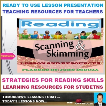 SKIM SCAN CLOSE READ LESSON PRESENTATION