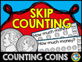 MONEY MATH CENTER SKIP COUNTING CLIP CARDS (COUNTING COINS