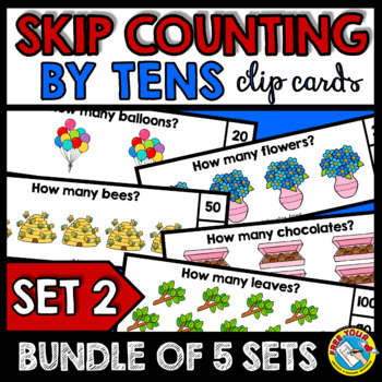 SKIP COUNTING BY 10S CENTERS (100TH DAY OF SCHOOL KINDERGARTEN ACTIVITIES)
