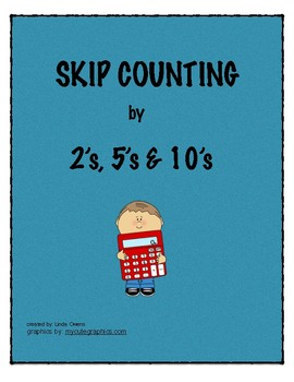 SKIP COUNTING BY 2's   5's and 10's
