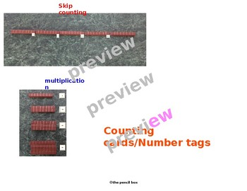 SKIP COUNTING Number Tags