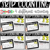SKIP COUNTING - Printable or Digital for the Google Classroom