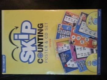SKIP Counting Poster & CD Set New