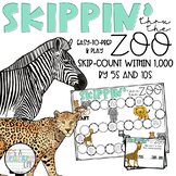 SKIPPING through the zoo: A Skip-Counting Game