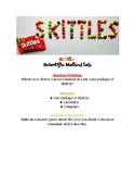 SKITTLES Scientific Method Activity