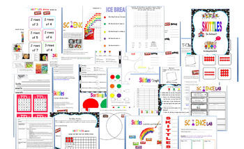 SKITTLES MANIA! Math & MORE! Back to School FUN! Curriculum for ALL SUBJECTS
