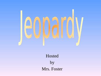 SKin Review Jeopardy