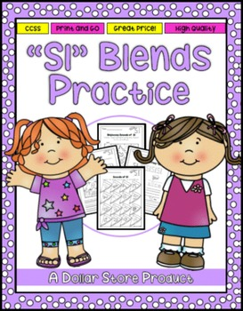 SL Blend Practice Printables Pack