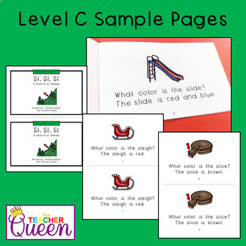 SL- Blend Readers Levels A, C, and D (Printable and Projectable Books)
