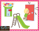 SL Blends Phonics Clip Art