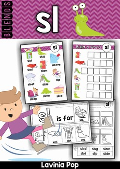 Blends Worksheets and Activities - SL