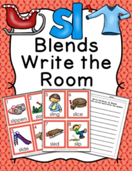 SL Blends Write the Room Activity