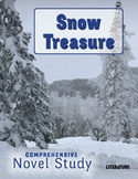 SL Book Reading Unit - Snow Treasure - Comprehensive Novel Study