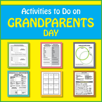 SL FREE - What to Do With Grandparents on Grandparents Day