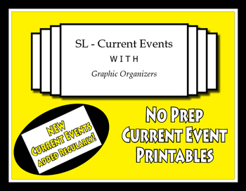 SL - Current Events With Graphic Organizers