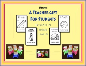 SL FREE - A Teacher Gift  For Students - Interactive Foldable Stories & Castle
