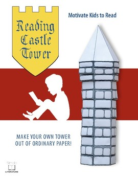 SL FREE - Motivate Kids to Read - Make Your Own Reading Castle Tower