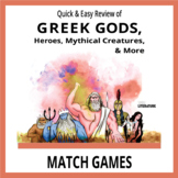 SL - Greek Gods, Heroes, Mythical Creatures, and More