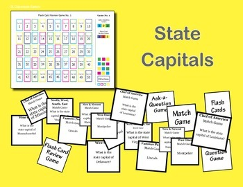 SL Games: State Capitals