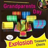 SL Grandparents Day Explosion Treasure Chests - Exploding Box Craft & Gift