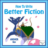 SL How to Write Better - Answer Key