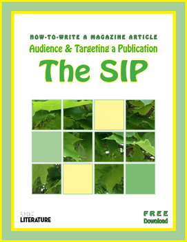 SL - How to Write a Magazine Article - The SIP