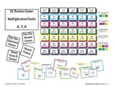 SL Games: Multiplication Facts (6, 7, 8)